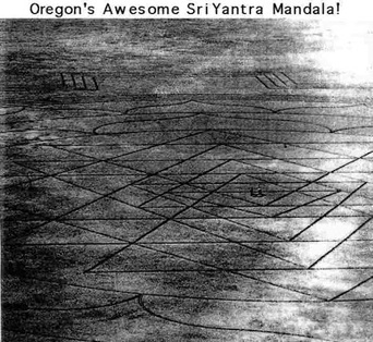 Oregon's Sri Yantra Carving