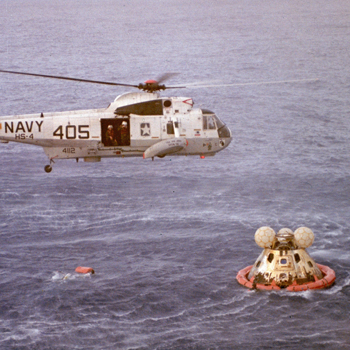 Image result for apollo 13 splashdown